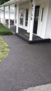 Rubber Paving With Step